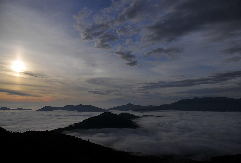 北海道の雲海