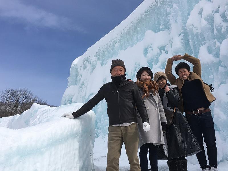 支笏湖氷祷まつり