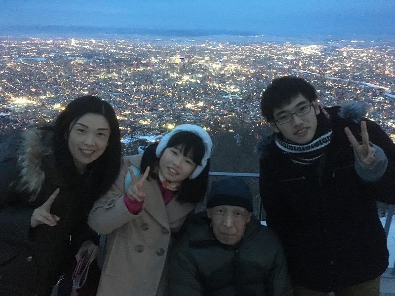 藻岩山展望台夜景 小野寺観光個人タクシー