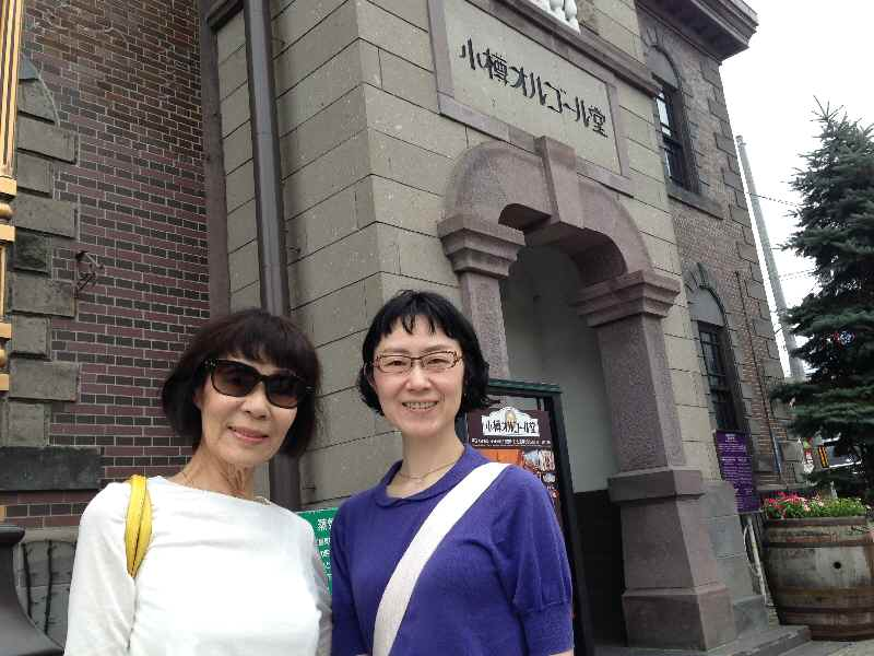 北海道観光タクシー 小樽オルゴール堂