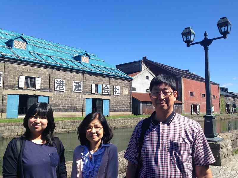 小樽運河 北海道観光タクシー