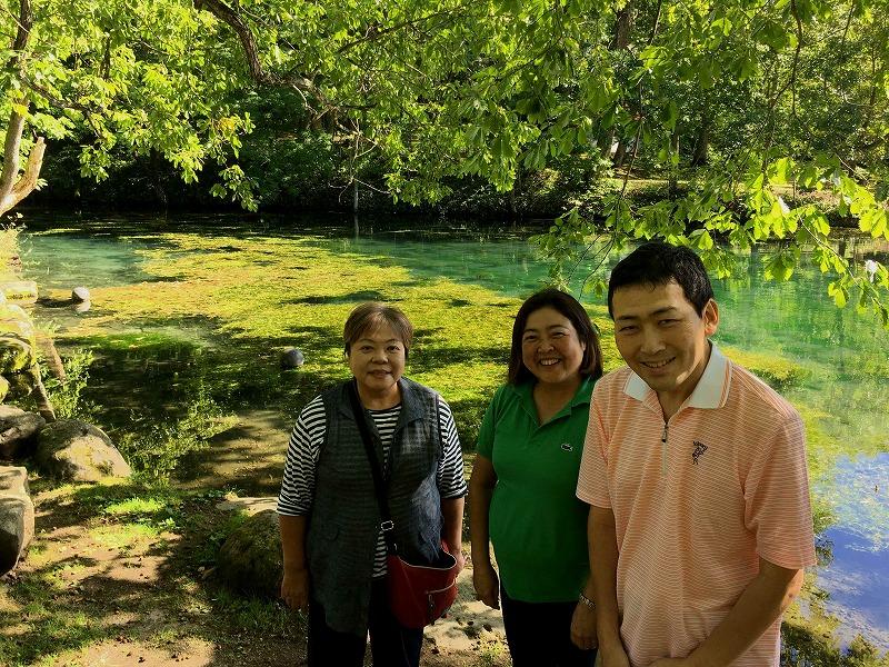鳥沼公園 緑の池