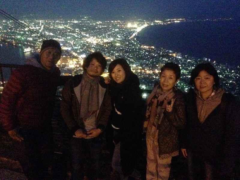 北海道観光タクシー 函館山 夜景