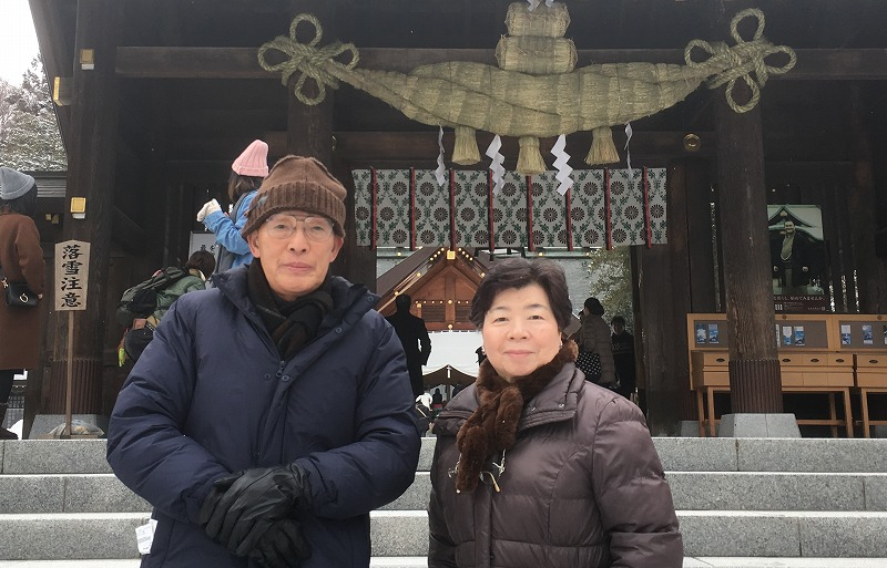 北海道観光 小野寺タクシー 北海道神宮ご案内