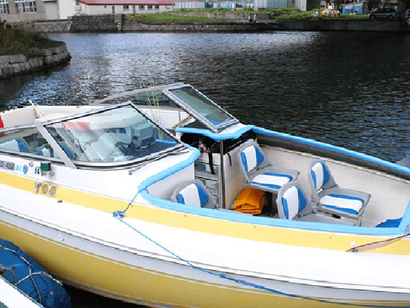 小樽 青の洞窟 モーターボート